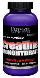 Ultimate Nutrition 100% Micronized Creatine Monohydrate (300 г)